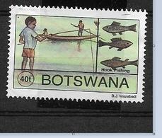 BOTSWANA  1995 Traditional Fishing   Hook Net NW  Used - Botswana (1966-...)