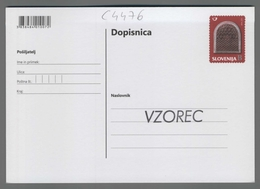 C4476 SLOVENIA Postal Stationery SEDMO OKNO FILATELISTICNA RAZSTAVA KRANJ 2015 B Postcard - Slovenia