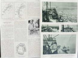 L'expédition Wilkins Vers Le Pôle Sud - Carl Ben Eielson Et Sir Hubert Wilkins - Page Originale Double 1929 - Documenti Storici
