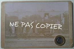 Chemin De Fer Wagon Poste Et Employés Ligne Paris - Belfort Vers 1900 - Ancianas (antes De 1900)