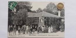 Taussat-les-Bains, Hotel Et Cafe De La Gare, Côte D'Argent,1911 - France