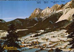 Osterreich - Postcard  Circulated In 1976 - Ramsau Am Dachstein - Overview - 2/scans - Ramsau Am Dachstein