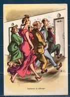 Cartolina Umoristica  Viaggiata 1957 - Humor