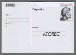 C4480 SLOVENIA Postal Stationery CARPACCIEVO LETO V PIRANU VITTORE CARPACCIO B Postcard - Slovenia