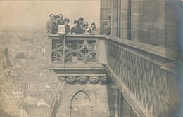 67) STRASBOURG : Carte-Photo - Balcon De La Cathédrale - Vue Sur La Ville - Strasbourg