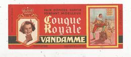 Buvard ,pain D'épices ,COUQUE ROYALE , VANDAMME ,n° 11 , HENRI III , Frais 1.55 E - Alimentaire