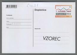 C4481 SLOVENIA Postal Stationery 150 OBLETNICA SLOVENSKEGA TABORA TABOR LJUTOMER B Postcard - Slovenia