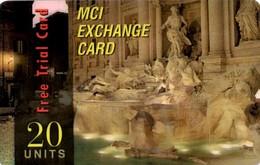 *ITALIA: MCI EXCHANGE* - Scheda Usata - [2] Handy-, Prepaid- Und Aufladkarten