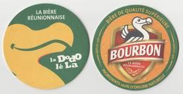 Sous-bocks **neuf**, Bourbon Biere  Ile De LA REUNION Océan Indien.Biere Birra Cerveza Piwo Pils 1 Scanne Recto/verso - Beer Mats