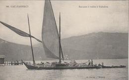 Lac D'Annecy : Barques à Voiles à Talloires. (beau Plan). - Annecy