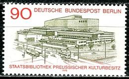 Berlin - Mi 577 - ** Postfrisch (A) - 90Pf            Staatsbibliothek Preußischer Kulturbesitz - Unused Stamps