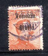 XP4188 - VENEZIA GIULIA 1918, Sassone N. 23  Usato. - 8. WW I Occupation