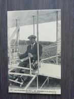 Les Pionniers De L'Air M. Wright à La Direction De Son Aéroplane - Sportifs