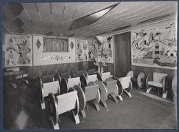 """Paquebot """"LIBERTE"""".Salle De Spectacle Pour Enfants.Marionnettes, Guignol.Superbe Photo.Beau Format.Photo DESBOUTIN, - Bateaux"""