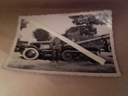 1930 1940 Citroen P17 Kegresse Section Radio Clairon Avec Isigne D'unité 5eme Génie? Ww2 19339 1940 39-40 2WK - War, Military