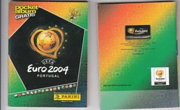Panini Euro 2004 Portugal Pocketalbum Onvolledig 137 Op 252 Stickers Plus Leeg Album - Panini