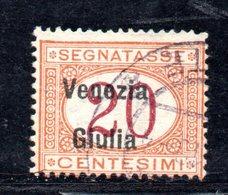 XP4199 - VENEZIA GIULIA 1919, Segnatasse Sassone  N. 3  Usato. - 8. WW I Occupation