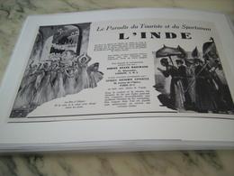 ANCIENNE PUBLICITE LE PARADIS DUTOURISME ET DU SPORTSMAN L INDE 1938 - Publicité