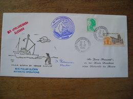 1986 Voyagé Sur M/S Polarbjorn (Ours Polaire) Antarctique, Alesund - Französische Süd- Und Antarktisgebiete (TAAF)