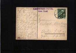 Austria / Oesterreich 1912 Interesting Postcard - Briefe U. Dokumente
