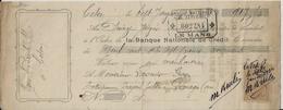 GEMAGES TRAITE A MR LASNIER ENTREPRENEUR DE TRAVAUX PUBLIC A GEMAGES POUR MR BRULE A CETON ANNEE 1924 - France