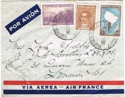 31544. Carta Aerea BUENOS AIRES (Argentina) 1939 A London. - Argentina