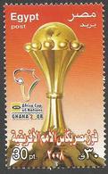 Egypt 2008 African Nations Cup Football Ghana Mint MNH - Egypte