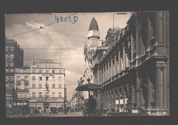 Brussel / Bruxelles - Photo Originale - Hôtel Cosmopolite / Pol / Royal - Place Rogier - Cafés, Hotels, Restaurants