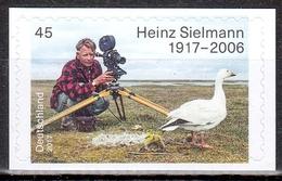 Bund MiNr. 3319 ** 100. Geburtstag Von Heinz Sielmann, Selbstklebend - BRD