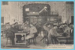 G.B. 01 - CPA  - N° 64 - Hôpital Militaire De Maison Blanche - La Cantine Intérieure - Guerre 1914-18