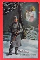HERZLICHEN WEIHNACHTSGRUSS -  PATRIOTIKA - K.u.K. SOLDAT 1916 - War 1914-18
