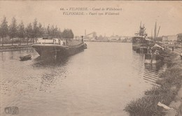 Vilvorde ,Canal De Willebroeck ;Vilvoorde Vaart Van Willebroek ; N° 66 ;( Péniche ) - Vilvoorde