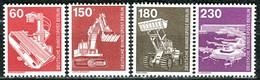 Berlin - Mi 582 + 584 / 586 - ** Postfrisch (C) - Industrie Und Technik II Komplett - Unused Stamps