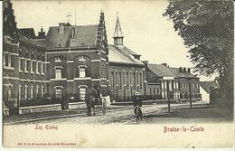Braine - Le - Comte -- Les Ecoles.    (2 Scans) - Braine-le-Comte