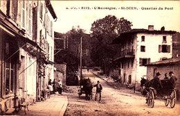 Saint Dier D'Auvergne. Quartier Du Pont. Attelages. - France