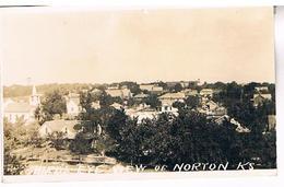 BIRD 'S EYE VIEW OF NORTON  KS  TBE    US278 - Kansas City – Kansas