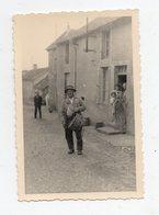 Salies De Bearn.(ou Environs) . Nouste Heste 1934. Crieur Tambour Public. Curé A Velo. RARE. - Salies De Bearn