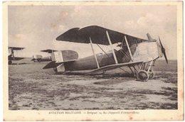 TRANSPORT AVIATION MILITAIRE MATERIEL : BREGUET 14 A2 APPAREIL D'OBSERVATION - Circulé MOURMELON LE GRAND En 1930 - Matériel
