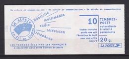"""Carnet N° 3085-C7 """" Un Siècle De Communication  """" - Usage Courant"""