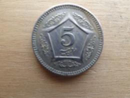Pakistan  5  Rupees   2005   Km 65 - Pakistan