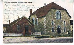 BAPTIST  CHURCH  MOOSE  JAW  SASK  TBE    US279 - Ontario