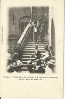Bruges Visite De S.M.Léopold II à L'Exposition Horticole Des 25,26 Et 27 Aout 1901   (11620) - Brugge