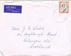 31551. Carta Aerea MOUNT COOK (New Zealand) 1969 To Scotland - Nueva Zelanda