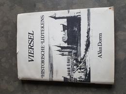 Boek: Viersel Historische Lidtekens A. Van Doren (181 Blz ; 20 X 27 Cm) + Schrijven Van Auteur Op 1ste Blz (nr 73/400) - Ranst