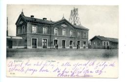 Enghien - La Gare / Romedenne (1911) - Enghien - Edingen