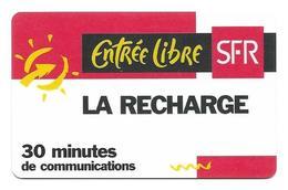 Carte Recharge SFR LC1 12 / 99 2éme Choix Voir 3 ème - France