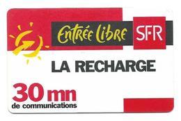 Carte Recharge SFR 30mn 2éme Choix Voir 3 ème - France