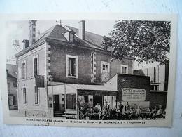 BESSE SUR BRAYE HOTEL DE LA GARE - Autres Communes