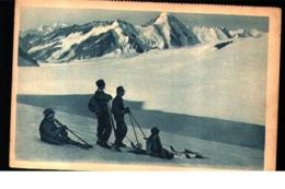 Winter Sport Early Skier Advert Chalet Cheese - Sport Invernali