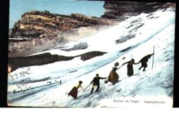 Winter Sport- Climbing Glacier De Eiger - Sports D'hiver
